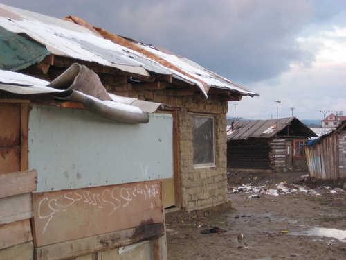 A Roma shanty village outside of Presov, Slovakia (Blue Funnies via Flickr)