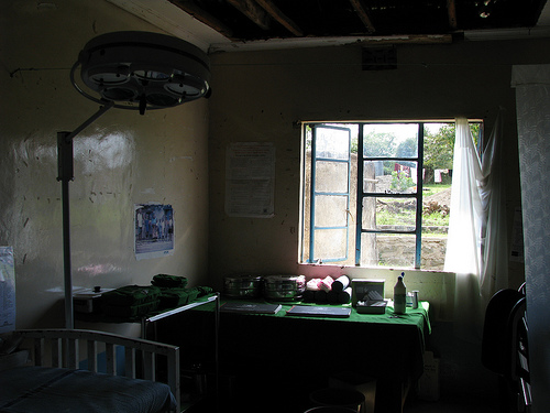 Hospital maternity wing in Magunga, Kenya (DFID via Flickr)