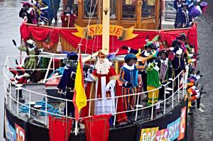 Sinterklaas arriving by boat from Spain (Flickr Creative Commons)