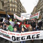 Algerian protest