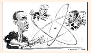 Cartoon appearing on the Financial Times' Rachman blog