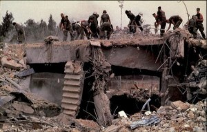 The 1983 Beirut Bombings Credits: https://www.pinterest.com/pin/64387469648231583/