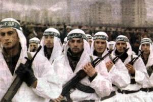 Al-Qaeda soldiers Credits: https://flic.kr/p/2NaKu