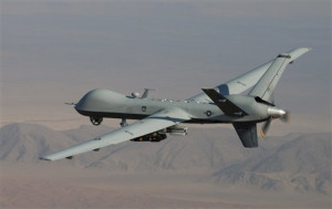 A MQ-9 Reaper, one of the UAVs used by the US to carry out drone strikes overseas. https://flic.kr/p/dUtGMB