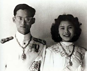 King Bhumibol Aduladej and Queen Sirikit (Creative Commons Licence)