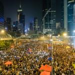 The Umbrella Revolution took over much of Hong Kong goo.gl/FOS72j