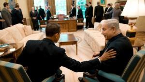 United States president Barack Obama with Israel Prime Minister Benjamin Netenyahu https://www.google.ca/search?site=imghp&tbm=isch&q=obama+and+netenyahu&tbs=sur:fmc&gws_rd=cr&ei=8Cg3WLXTKsHPjwTNz43wCg#gws_rd=cr&imgrc=0Il-uGTRt518fM%3A