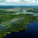 Aerial view of the Amazon in Brazil.  ©Neil Palmer/CIAT https://flic.kr/p/9CeeuC