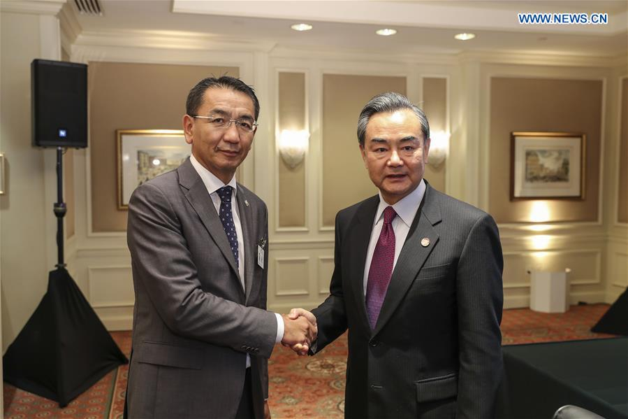 Chinese Foreign Minister Wang Yi and Mongolian Foreign Minister Tsend Munkh-Orgil meet in New York in September to discuss trade. http://news.xinhuanet.com/english/2016-09/22/c_135703941.htm