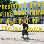 "https://flic.kr/p/nkbTiX ""Pardon Chelsea Manning Rally"" in Washington D.C."
