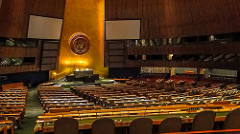 The United Nations General Assembly http://bit.ly/2iaM96U