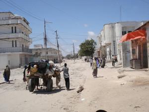 Residents fleeing violence in Mogadishu. https://flic.kr/p/4Li8FF