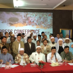 At a press conference on 2 November 2016, FPI party officials declare Ahok should arrested and detained for blasphemy. https://flic.kr/p/P8JuuL
