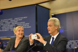 Geert Wilders and Marine Le Pen. https://flic.kr/p/nupSG8
