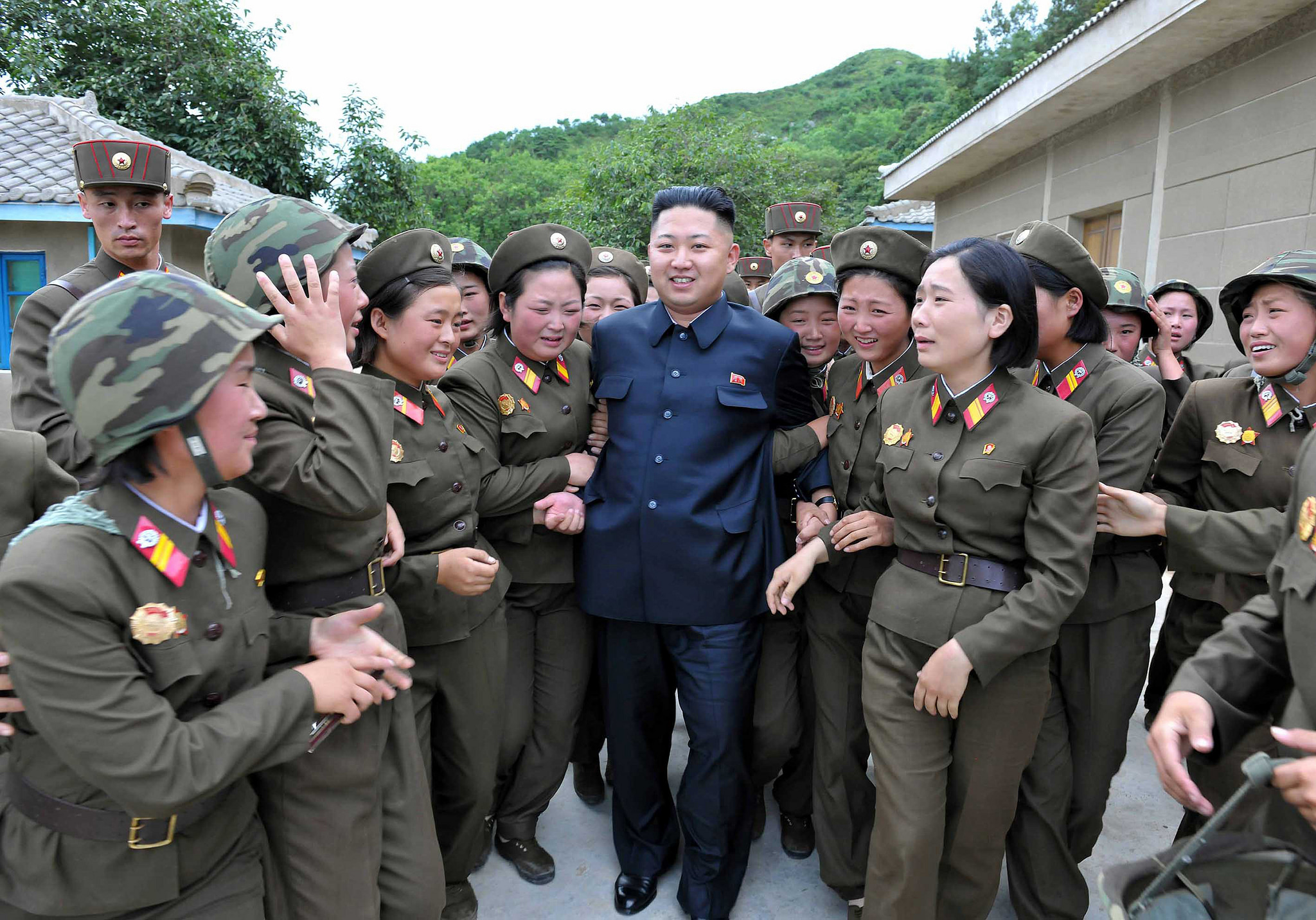 Kim Jong-Un visits the Revolutionary Persimmon Tree in 2012. https://flic.kr/p/Q8zWV2