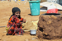 Over half Mazrak camp's residents are children under 18-years old, many of them are malnourished, with upwards of a thousand cases of severe malnourishment.