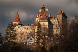 "Bran Castle, a national monument and landmark in Romania known as ""Dracula's Castle"". https://flic.kr/p/8ZD1Hi"