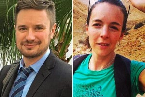 The remains of United Nations Humanitarian Experts Michael Sharp (left) and Zaida Catalán (right) were found March 28 2017 after a 2-week disappearance. https://goo.gl/WZ6KpS